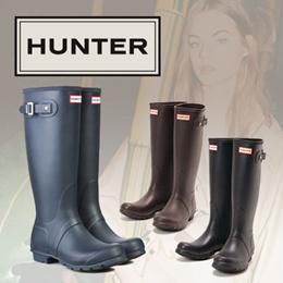 HUNTER WOMENS ORIGINAL TALL ハンター レディース オリジナル トール WFT1000RMA 梅雨対策 レインブーツ 長靴 ブーツ