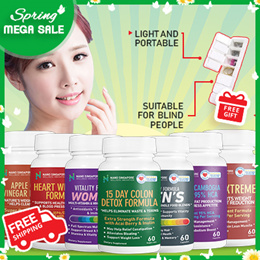 [Bundle of 2] [2 MTH SUPPLY] Mix  n Match - 70% Off - Nano SG Top Best Sellers ☆Free Shipping  ☆Gift