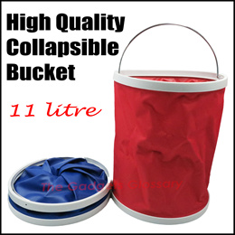 ★11L Collapsible Bucket★Foldable Pail Car Wash Fishing Camping Accessories Singapore Seller