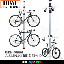 ★Dual Bike Rack★ Bicycle Rack★ Dual Bicycle Space ★ Chrome Bike Rack Bicycle Essential SAVE SPACE