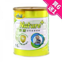【豐力富】nature+3號幼兒成長奶粉 1.5kg*7罐 (買6送1)《大樹健康購物網》