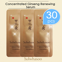 ★Concentrated Ginseng Renewing Serum*30pcs/Sulwhasoo/Sample/Korea cosmetics