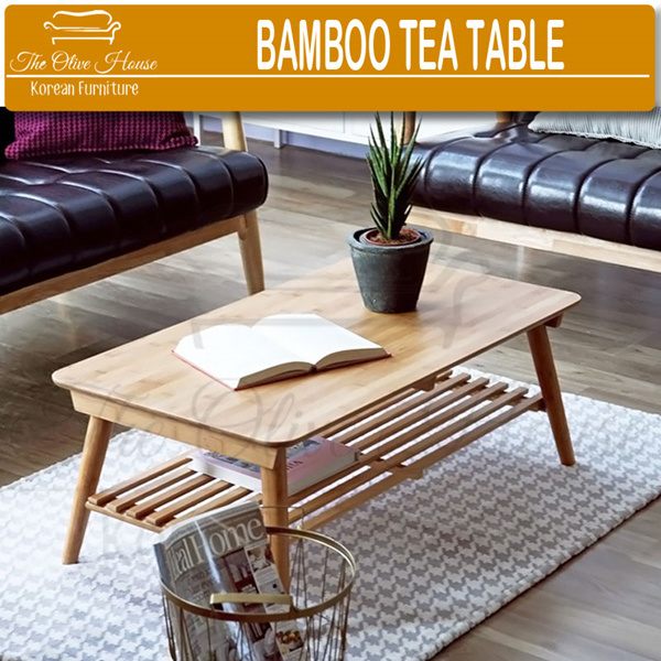 [NEW PRODUCT] BAMBOO TEA TABLE/SOFA TEA TABLE