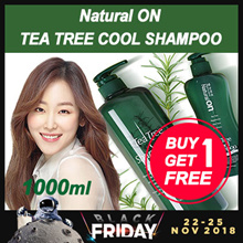1+1 [DAENG GI MEO RI] Tea tree shampoo 1000ml / made in korea