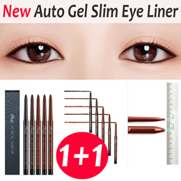 【BBIA】Bbia 1+1 New Last Auto Gel Eye Slim Liner★Korea Hot item★eye liner/Easy Drawing/5 Colors