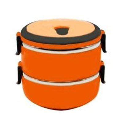 Lunch Box 2 Susun Orange