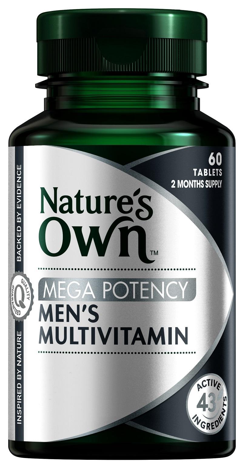 Qoo10 Natures Own Men Diet Wellness Way Multivitamin With Spirulina 200 Tablets Actual Size Prev Next Mens Mega Potency 60