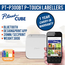 ORIGINAL#Brother PT-P300BT P-touch Cube Electronic Labeller# 1 Year local warranty! FREE TAPE!