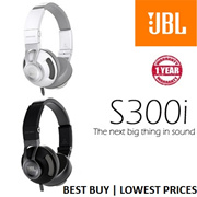 JBL(S300i)Synchros On-Ear Stereo Headphone in White/Silver | Black/Grey Stainless Steel Headband Metal Alloy Housing In-line Remote | Microphone | Local Stocks 1 Year Warranty | READY STOCKS