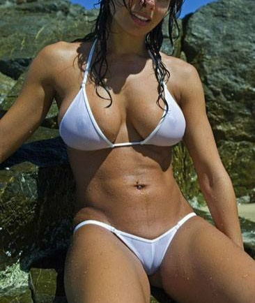 You tell woman see through swimsuit recollect more