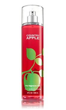 Bath and Body Works COUNTRY APPLE Fine Fragrance Mist 8 fl oz / 236 mL