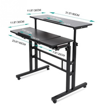 Multi-purpose Height & Angle Adjustable Laptop Desk Table Office Home Furniture