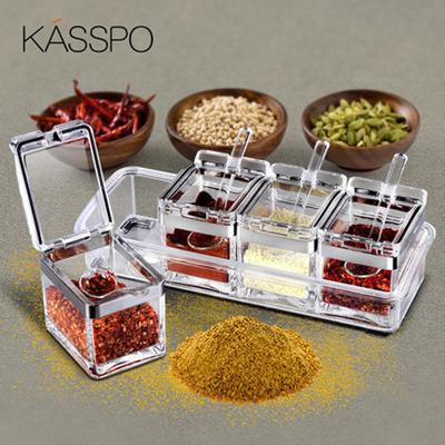Qoo10 Set Seasoning Box Kitchen Dining