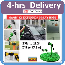 🇸🇬🚿4-hrs delivery option🚿 [Magic Hose] 3xLength Extension Expandable Stretchable with spray nozz