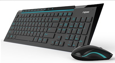 c8104459fb5 New Rapoo 8200p Wireless keyboard mouse set/best selling product/limited  edition
