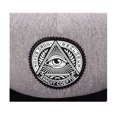 4e11edba9bd online 2018 Fashion Round Label Triangle Eye Illuminati Snapback Caps Women  Adjustable Baseball Cap