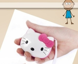 Hello Kitty Kitty Cat Mini Speaker MP3 Player Amplifier Micro SD TF Card USB Disk Computer