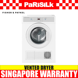 Fisher and Paykel DE7060M1 7kg Vented Dryer - Singapore Warranty