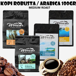 Kopi Robusta Aneka Jenis 100gr - Medium Roast