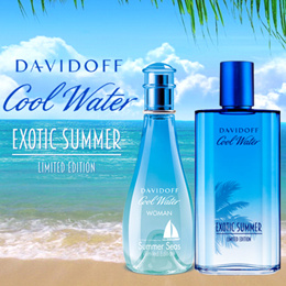 STOCK BIG SIZE ! DAVIDOFF Cool Water LIMITED EDITION EXOTIC SUMMER MEN / WOMEN PERFUME/FRAGRANCE