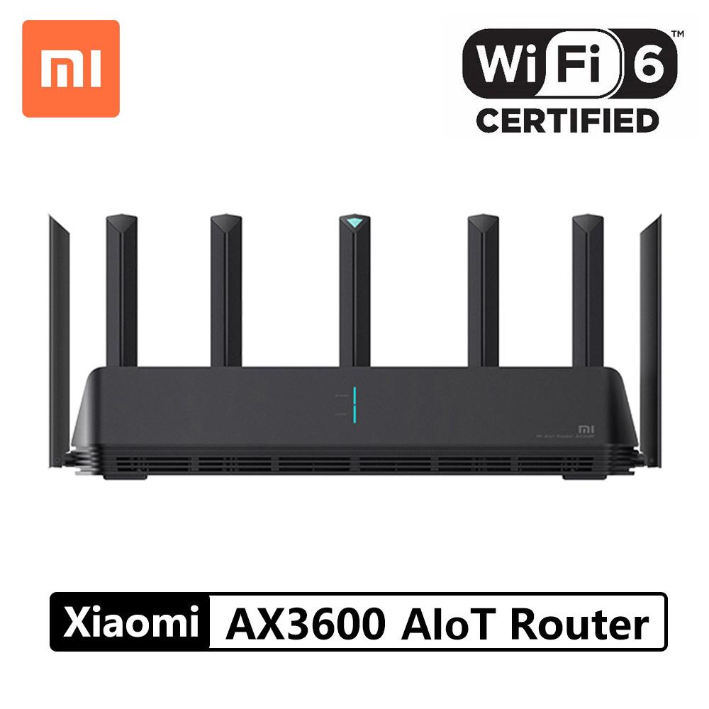 XiaomiXiaomi AIoT Router AX3600 Wifi 6 5G WPA3 600Mb Dual Band 2976Mbs Gigabit Rate Qualcomm A53 CPU