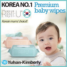 [GREENFINGER] Korea No.1 Brand ReliU Baby Wet Wipes ♥ REAL PREMIUM ♥ Yuhan-Kimberly ♥