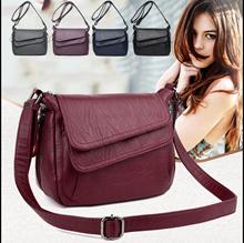 7e5d86a36559 Women Leather Handbags Bags New Female Luxury Handbags Shoulder Bags  Designer Small Handbag Crossbod