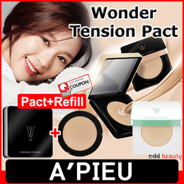 [APIEU] wonder tension Pact+Refill / Moist / Bosong / Perfect Cover / Madecassoside/odd beauty