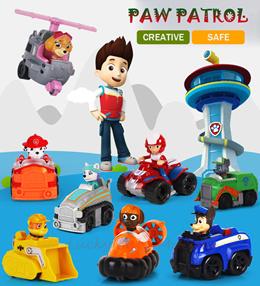 【KIDS GIFT】[Paw Patrol Toy] 6pcs/8pcs Paw Patrol action car set with box