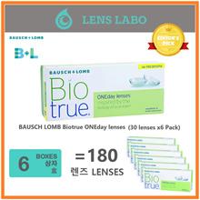 [Free Shipping] BAUSCH LOMB Biotrue  Bio True ONEday lenses (30pcs/box) x6