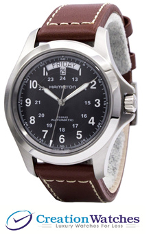 [CreationWatches] Hamilton Khaki King Automatic H64455533 Mens Watch