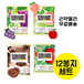 12 pieces of konjac jelly Mannang Life X 6 bags set the lowest! / Grape flavor / peach flavor / apple flavor / Konjakubatake / diet snack / Japanese snack / diet jelly / Valentine's Day