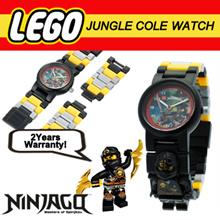 Lego Ninjago Jungle Ninja Cole Minifigure link Watch  for Kids ~ With 2 Years Warranty