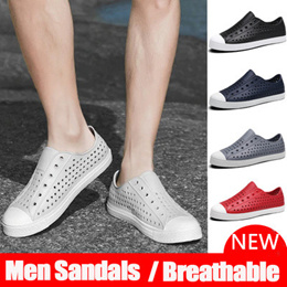 ★buy 3 fr shipping★Ramialali Men Sandals Summer Breathable Hole Shoes Men Casual Shoes Outdoor
