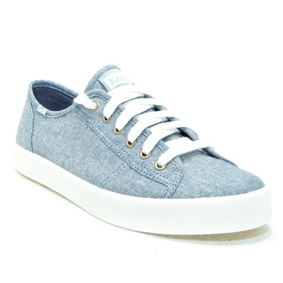 KEDS - KDZ-WF58119-KICKSTART SEASONAL SOLID.Blue. WOMEN SHOES KDZ0002431.C0398