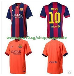 15 of the new season at home to Barcelona Barcelona away jersey short sleeve football clothes on the