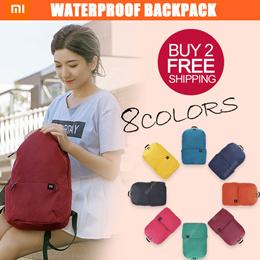 ♥Buy 2 Free shipping♥Xiaomi Mijia Colorful small 10Lbackpack level4 waterproof Ykk zipper School bag