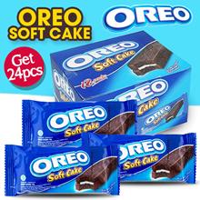 [GET 2 BOX] Oreo Soft Cake (24 X 16g)_384g Coklat dan Keju