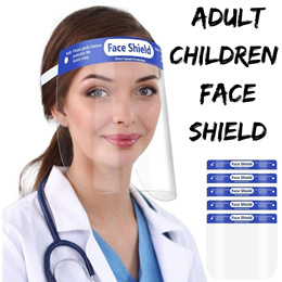 (Local Stock)  Next Day Shipping Face Shield Kids Adult Children Face Shield Masks Protective