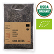 1kg Highland Grown USDA Certified Organic Chia Seeds (Chia Seed 1kg bag)
