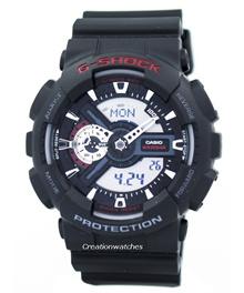 [CreationWatches] Casio G-Shock World Time Analog Digital GA-110-1A GA110 Mens Watch