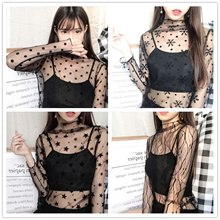 Free Shipping Korean Trends Mesh Tops | Summer Tops | Tank Top Spaghetti Camisole Women Top