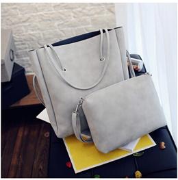 2016 new Korean version of the simple shoulder bag leisure simple mother package trend Tote bag commuter bag ladies bag