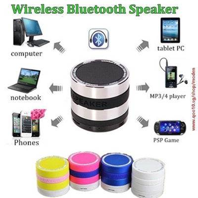Mini Camera Lens Portable Hands-free Wireless Stereo Bluetooth Speaker For  iPhone iPad Samsung With