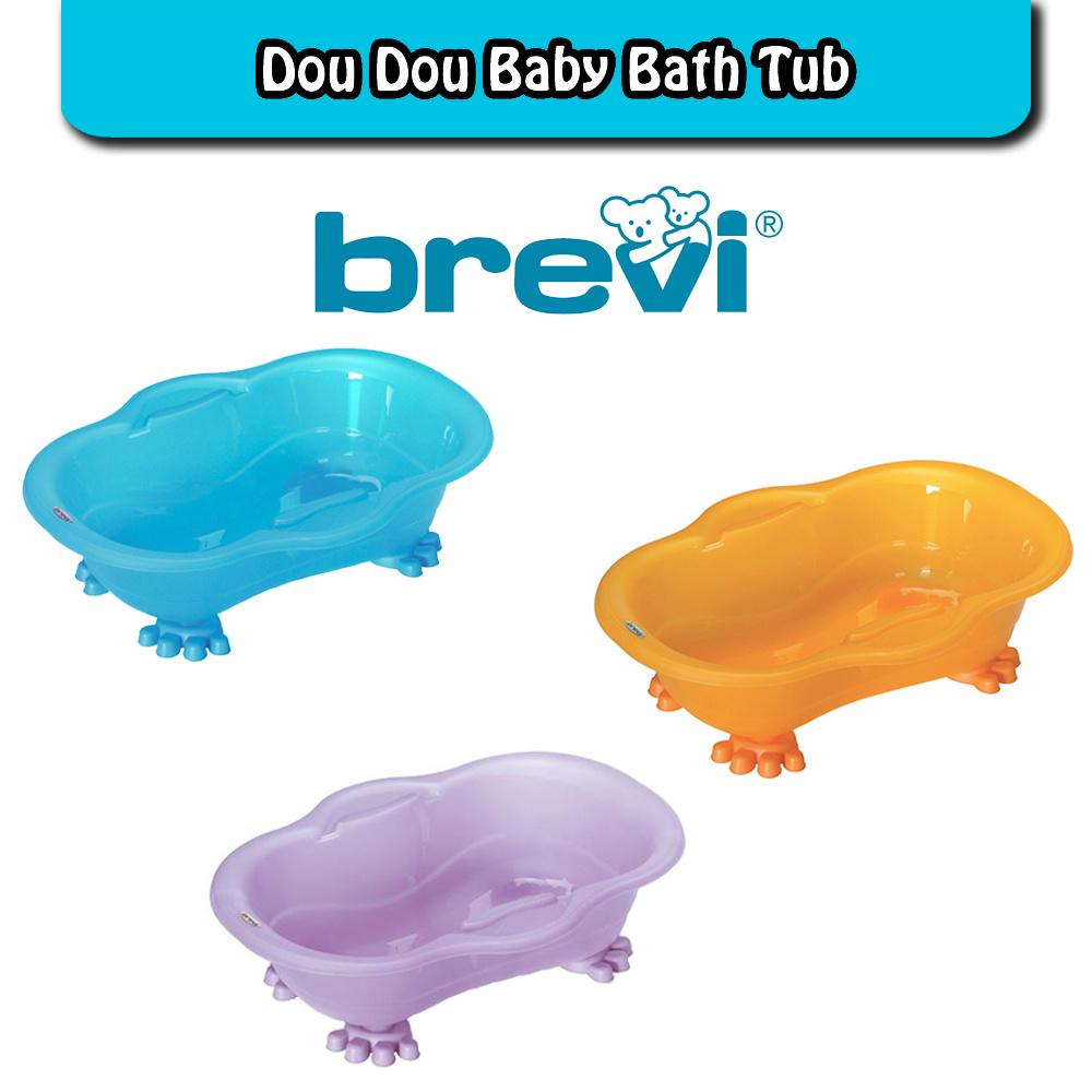 Brevi Dou Dou Baby Bath Tub Orange