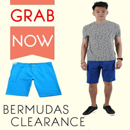 CLEARANCE Sales!!! Mens Fitting Bermudas. Multiple styles available!