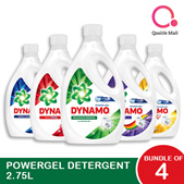 [PnG][Bundle of 4] Dynamo Power Gel Laundry Detergent bottles 2.75L/ 3L -  All types available