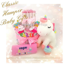 f8aabd10198 Classic Hamper  Diaper cake  Baby hamper  First Birthday Gift  Baby Shower  gifts