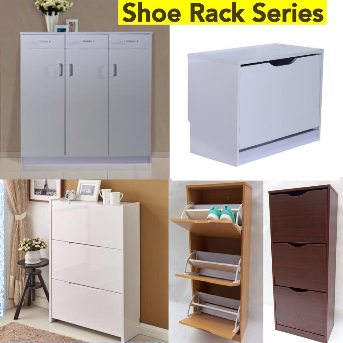Furniture / Shoe Rack / Chest Of Drawers / Shoes Cabinet / Living Home /  Household Drawer Storage