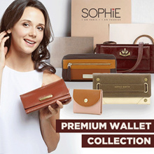 PREMIUM WOMENS WALLET COLLECTION - KOLEKSI DOMPET WANITA PREMIUM
